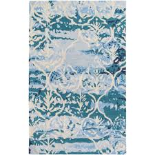 artistic weavers pacific holly teal 9 ft x 13 ft indoor area rug