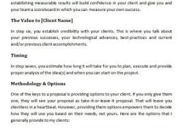 Marketing Services Proposal Template 32 Business Proposal Templates