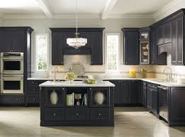 black kitchen cabinets with white countertops. Wonderful Countertops Black Kitchen Cabinets With White Marble Countertops Inside With F