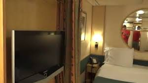 interior stateroom tour on royal caribbean freedom of the seas cruise ship you