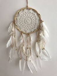 Bamboo Dream Catcher 100100cm Boho Crochet Web Dream Catcher WhiteCream Pom Poms Tassels 58