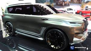 2018 infiniti suv models. perfect suv 2018 infiniti qx80 monograph concept  exterior walkaround debut at 2017  new york auto show for infiniti suv models g