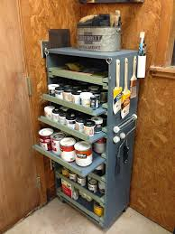 Cabinets For Workshop Diy Paint Storage Cabinet Wilker Dos