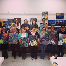 painting with a twist dallas loves to host birthday parties birthdays paintingwithatwist