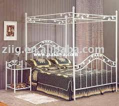 Iron Canopy Bed Queen – Decor House Template Pages