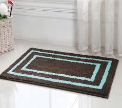 blue and brown bathroom rugs blue brown bathroom