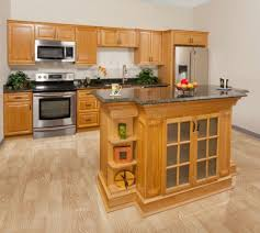 For A Kitchen Island Hickory Kitchen Island Natural Wood Kitchen Island L Upscale