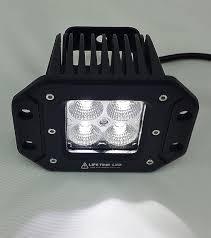 picture of lifetime led lights 3 flush mount off road lights 20 watt amber