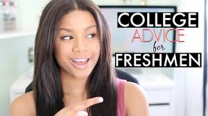 college advice for freshmen tips tricks