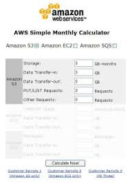 Simple Monthly Calculator Estimate Your Costs Aws Simple Monthly Calculator Aws