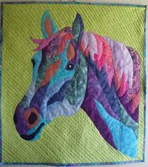 339 best quilt horses images on Pinterest | Heart, Painting and ... & Horse quilt More Adamdwight.com