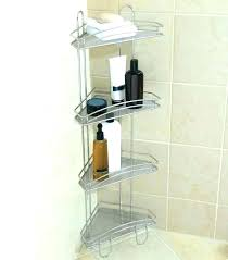 wondeful tension pole corner shower caddy i66021 classics and tension pole bathroom accessories 4 shelving