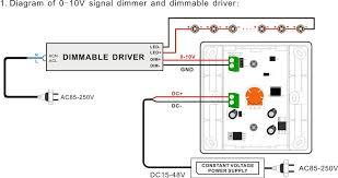 v led dimming wiring diagram image wiring dimming wiring diagram bicolor dc15v 48v low voltage 0 10v 1 10v remote control led on 0 10v led