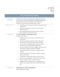 Animal Care Worker Sample Resume Best Ideas Of Resume Examples Animal Care Resume Ixiplay Free Resume 12