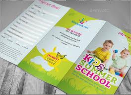 tri fold school brochure template summer camp brochure template free download save btsa co