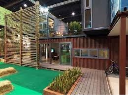 modern prefab green home design for eco living friendly house