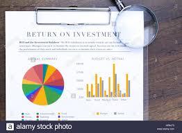 Rainbow Pie Chart Return On Investment Analysis Document With Rainbow Pie