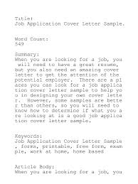resume cover letter important a cover letter is as important as the resume careerone free resume cover letter for poetry submission