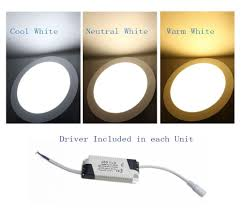 Bright White Light Bulbs 9w Bright Led Recessed Ceiling Panel Down Light Bulb Lamp