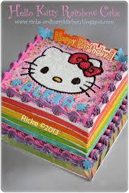 Resep Kue Tart Hello Kitty Good Kue Ulang Tahun Cara Membuat Kue