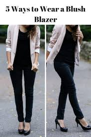 How To Wear Light Pink Pants How To Wear A Light Pink Blazer Light Pink Blazers Pink