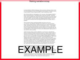 making narrative essay term paper help making narrative essay effective narrative essays allow readers to visualize everything that s happening in