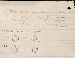 provide the major organic product of the following com provide the major organic product of the following need help my organic chemistry