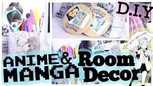 d i y anime manga room decor