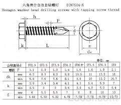 Din7504 K Stainless Hex Flange Head Self Drilling Screws View Self Drilling Screws Lana F Product Details From Qingdao Rainar Intl Trade Co Ltd