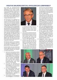 Jahrgang 2017 Ausgabe 3 Juni Juli Saar Bau
