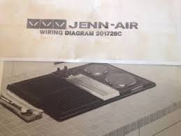 wiring diagram only for jenn air electric convertible cooktop jenn air