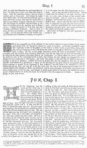 wycliffe new testament facsimile reproduction detail image