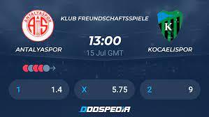 Antalyaspor - Kocaelispor » Live Stream & Ticker + Quoten, Statistiken, News