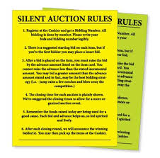 silent auction program template best 25 auction bid ideas on pinterest silent auction bid sheet