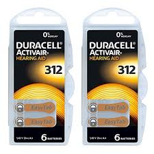 Duracell Watch Battery Conversion Chart Duracell Hearing Aid Batteries Size 312 Pack 60 Batteries