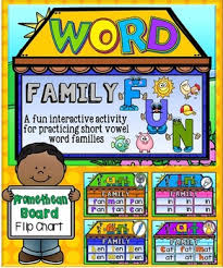 Interactive Whiteboard Flip Charts Short Vowels Word Families House Fun Promethean Flip Chart Wipe Off Mats