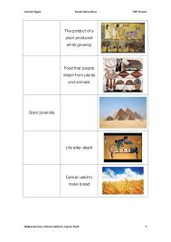 Ancient Egypt Students Worksheets