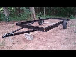 budget 16 ft trailer build pt 1 you
