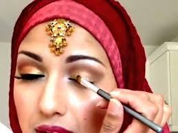 traditional indian stani bridal makeup tutorial