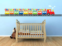 alphabet wall decals for  on colorful wall art for nursery with alphabet wall decals for kids rooms baby nursery baby boy wall