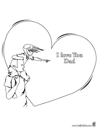 Small Picture I Love You Daddy Coloring Pages Free Colouring Pages 1731