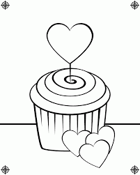 Small Picture Cute Cupcakes Coloring Pages Coloring Home