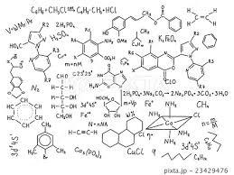 化学式 構造式 化学構造式 書くのイラスト素材 Pixta
