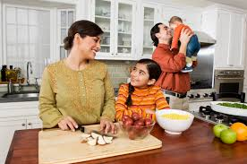 Family Kitchen Food Play For Literacy Building Read Measure Mix Pour Cook