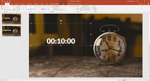Countdown Clock For Powerpoint Presentation How To Use A Timer In Powerpoint Presentationpoint