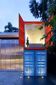 Painted Shipping Containers Decameron Marcio Kogan Window