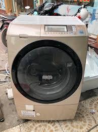 Máy giặt cũ có sấy Hitachi BD-S7400 (giặt 9kg sấy 6kg, date 2012)