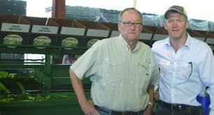 Bill Brim-left-Lewis Taylor Farms - Vegetable Growers News