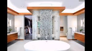 Mosaik Fliesen Badezimmer Weiss Badwanne Freistehend Holz Gruen