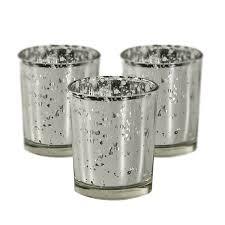 silver mercury votive holders set of 72